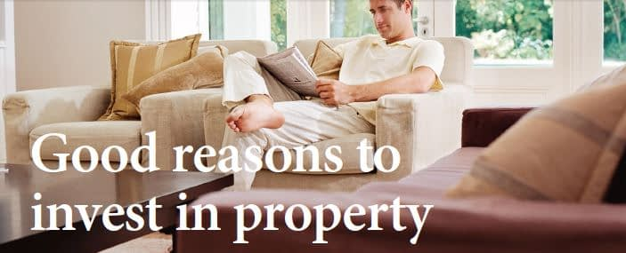 Good reason to invest in property
